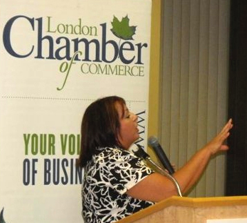 london chamber of commerce MC Kendell Hall